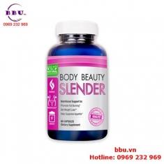 Thuốc uống giảm cân Body Beauty Slender 60 viên của Mỹ
