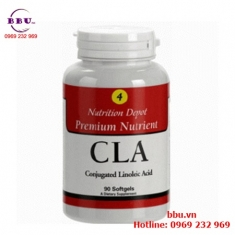 Thuốc uống giảm cân, giảm mỡ vùng bụng, đùi CLA - USA lọ 90 viên của Mỹ