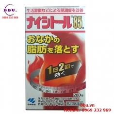 Thuốc uống giảm mỡ bụng hiệu quả Naishitoru 85 Kobayashi 280 viên của Nhật