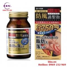 Thuốc uống làm giảm mỡ bụng Rohto 3750 của Nhật Bản
