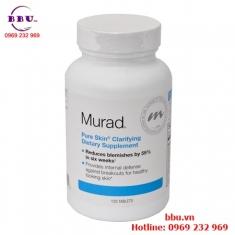Thuốc uống trị mụn Murad Pure Skin Clarifying Dietary Supplement hộp 120 viên của Mỹ