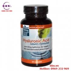 Viên Uống Bổ Khớp, Sáng Mắt và Dưỡng Da Neocell Hyaluronic Acid 60 viên từ Mỹ