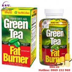 Thuốc uống giảm cân từ trà xanh Green Tea Fat Burner 200 viên của Mỹ