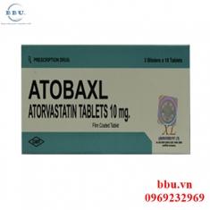 Atobaxl 10mg/20mg điều chỉnh rối loạn tăng lipid máu