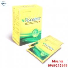 Bổ sung Vitamin C, kẽm, Beta-glucan  miễn dịch, tăng cường sức đề kháng Cốm ASCOBEE