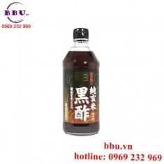 Dấm đen gạo lức giúp giảm cân Mizkan chai 500ml của Nhật