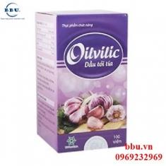 Điều trị cảm cúm, đau họng, cảm lạnh Dầu tỏi tía oilvilic