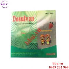 Dosulvon gói chữa bệnh rối loạn dịch phế quản, viêm phế quản, kháng sinh