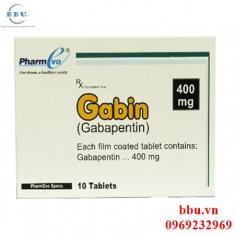 Gabin 400mg điều trị đau dây thần kinh