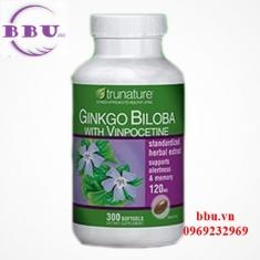 Ginkgo Biloba 300 viên tăng cường  tuần hoàn máu não
