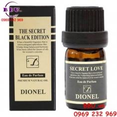 Nước hoa vùng kín Dionel Secret Love Black Edition 5 ml của Hàn Quốc
