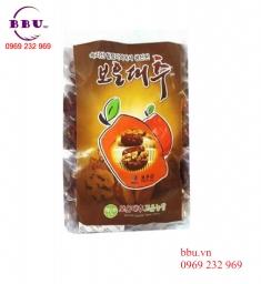 Táo đỏ sấy khô kẹp quả óc chó của Hàn Quốc gói 500g