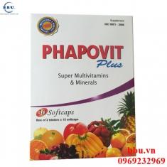 Phapovit plus - 30 viên bổ sung vitamin và khoáng chất