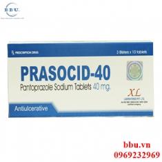 Prasocid-40 điều trị viêm loét dạ dày, tá tràng