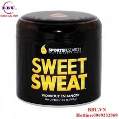 Sweet Sweat gel thoa tan mỡ bụng, bắp dùi, bắp tay nhập khẩu USA