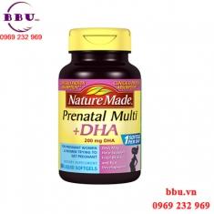 Thuốc bổ cho bà bầu Nature Made Prenatal Mutil DHA loại 150 viên