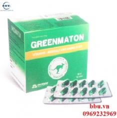 Thuốc bổ Greenmaton nâng cao sức đề kháng, phòng ngừa bệnh tật cho cơ thể
