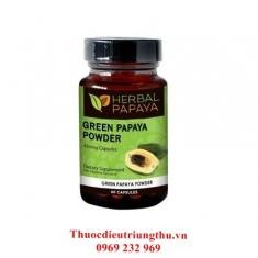 Thuốc đặc trị ung thư green papaya - non-gmo veggie capsules