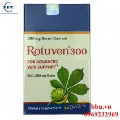 Thuốc điều trị suy giãn tĩnh mạch Rotuven 300