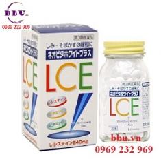Thuốc giúp làm giảm tàn nhang, làm mờ nám tàn nhang Trắng Da LCE 180 viên của Nhật Bản