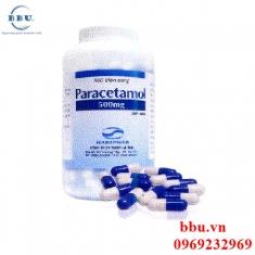 Thuốc hạ sốt giảm đau Paracetamol 500MG