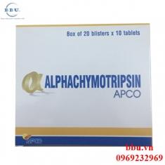 Thuốc kháng viêm tăng sức đề kháng Alphachymotripsin