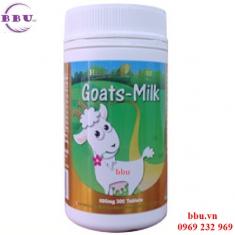 Viên uống sữa dê 300 viên Goat's Milk Homart