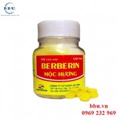 Viên uống tốt cho đường tiêu hóa Berberin Mộc Hương