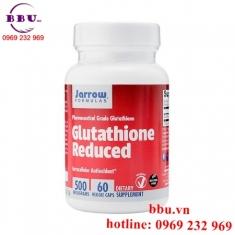 Viên uống hỗ trợ trắng da, chống lão hóa và bổ gan Glutathione Reduced 500mg