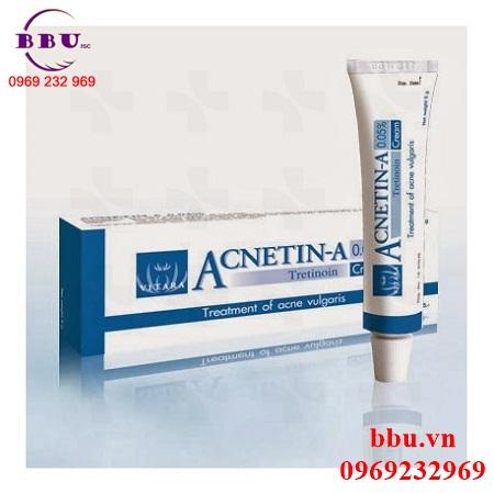 Thuốc điều trị mụn ẩn,mụn trứng cá ACNETIN-A 0,05%
