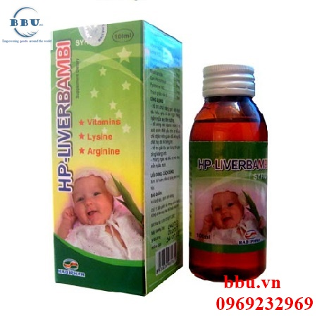 Thuốc giải độc gan HP Liverbambi