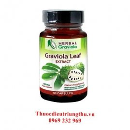 Thuốc tăng cường hệ miễn dịch (graviola (soursop) leaf extract capsules )