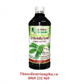 Tinh Chất Mãng Cầu Điều Trị Ung Thư Graviola Soursop Leaf Extract Liquid - 12oz