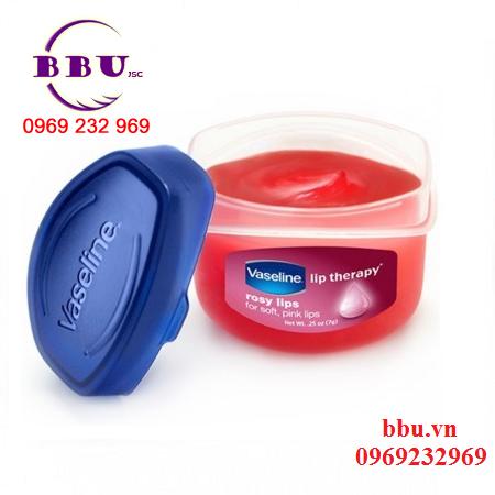 son dưỡng môi vaseline rosy lips usa