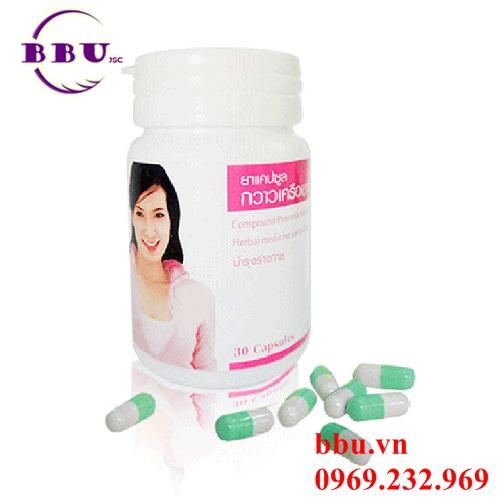 Viên uống bổ sung nội tiết tố nữ, nở ngực Yanhee Compound Pueraria Marifica Capsule Bio