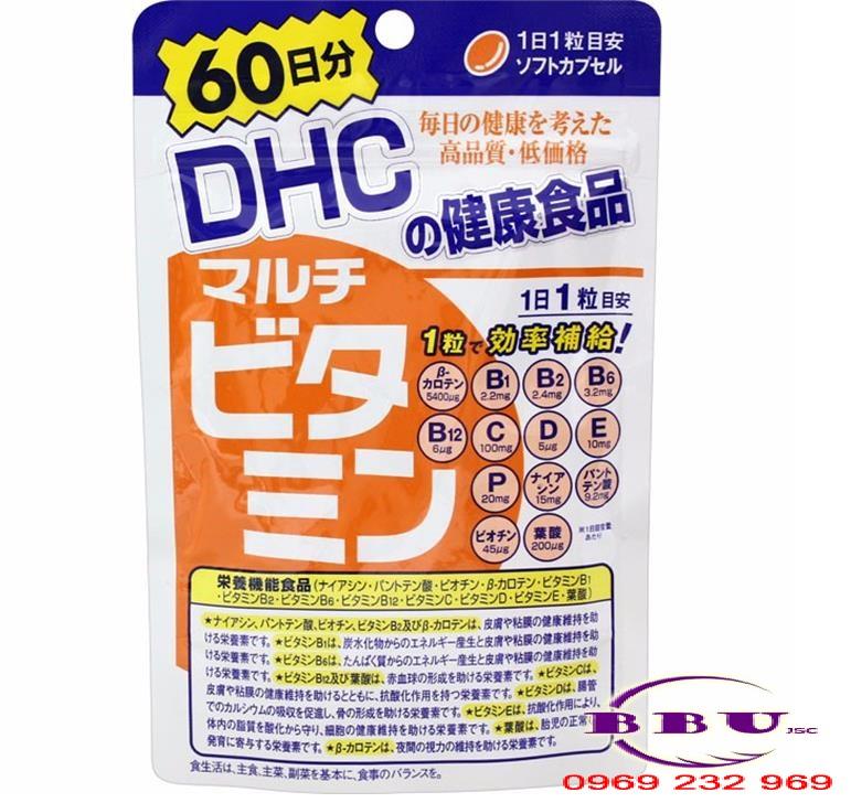 Viên Uống Vitamin Tổng Hợp DHC 60