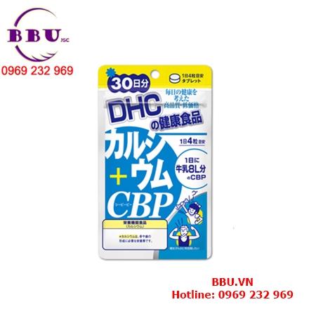 Viên uống Canxi khoáng chất DHC