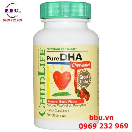 Viên uống Childlife Pure DHA 90 Viên
