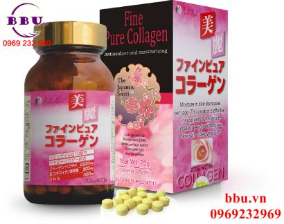 Viên Uống Đẹp Da Từ Nhật Bản Fine Pure Collagen
