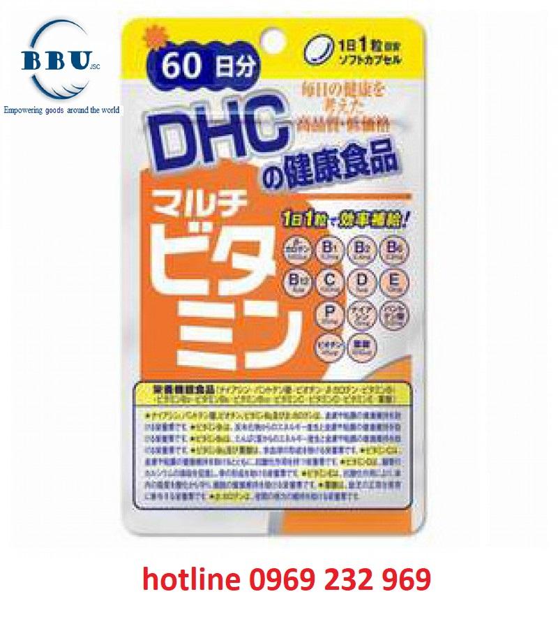 Review Viên Uống Vitamin Tổng Hợp DHC 60