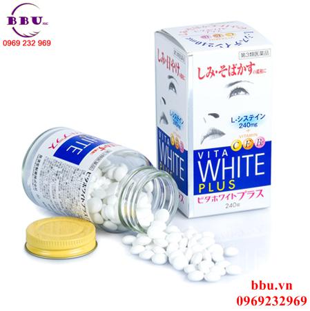 Viên uống điều trị nám tàn nhang VITA White Plus C.E.B2