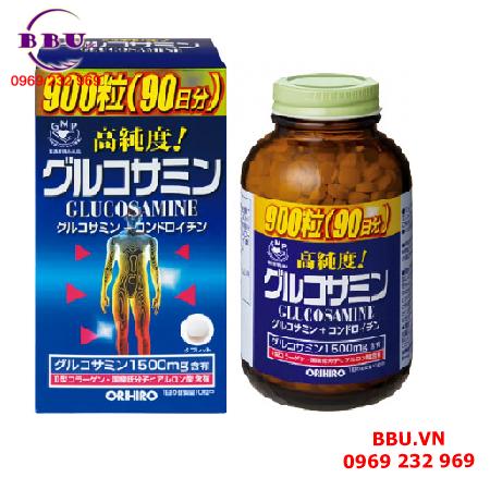 Viên uống Glucosamine 1500mg Orihiro Nhật Bản