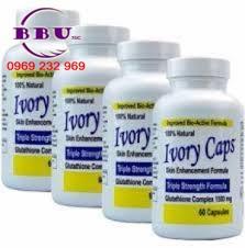 Viên Uống Trắng Da Ivory Caps 60v USA