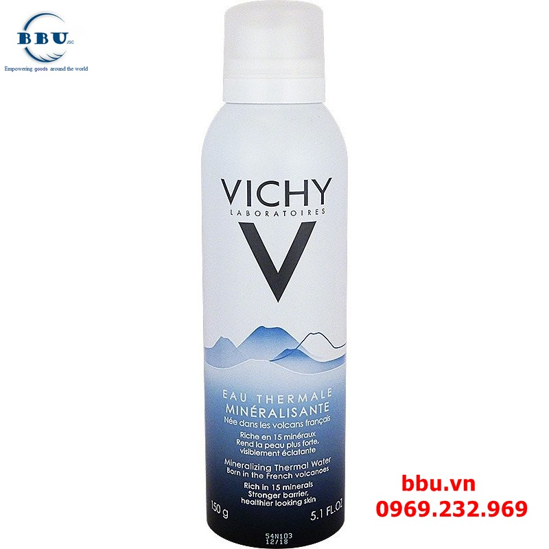 Xịt khoáng Vichy Eau Thermale Mineralisante 50ml